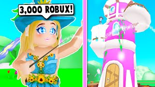 I SPENT 3000 ROBUX ON THE NEW WIZARD TOWER MANSION! (Roblox)