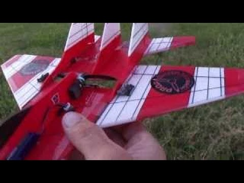 Ultra Micro ( MIG-29 ) Built using 3mm depron foam, 3000kv brushless motor,