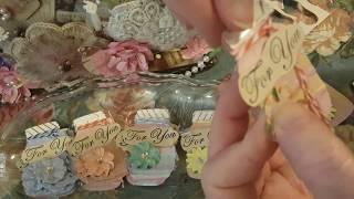 Gloria's Mason Jars Kit Ideas and Embellishment Mason Jar For You Tags!