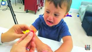 Cute baby Shawn crying (FUNnel Vision)|| screen recording||Read desc