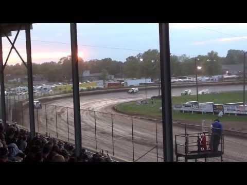 Cory Mahder - June 7th, 2013 - 2nd Place - Heat - Red Cedar Speedway