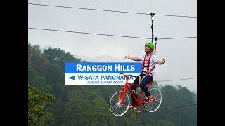 Panorama Ranggon Hills - Wisata Gunung Bunder Bogor