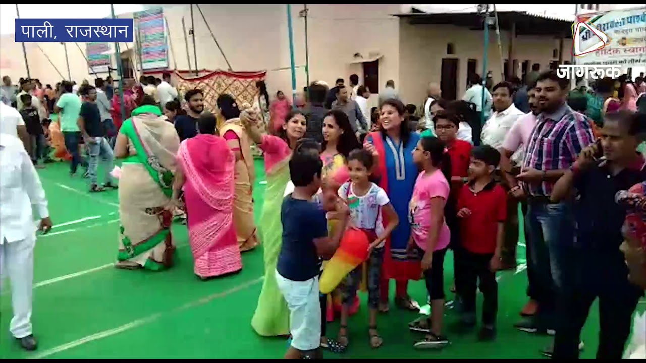 पाली : जैन समाज की ओर से जैन मंदिर पर वार्षिक मेले का आयोजन