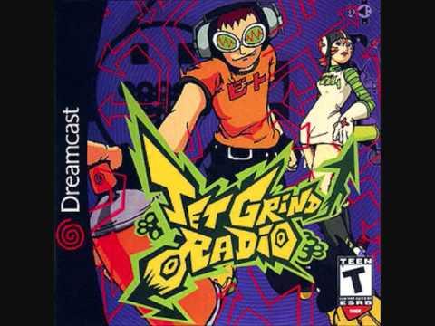 Jet Grind Radio Soundtrack - Funky Radio