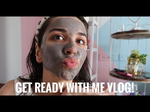 Indian Wedding Guest Makeup, Skincare and Outfit! Easy Get Ready With Me Vlog | Heli Ved