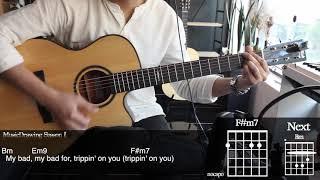 Trip - Ella Mai Guitar Cover   Musicdrawing