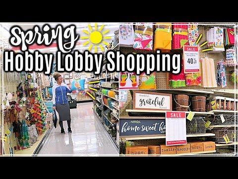 ULTIMATE HOBBY LOBBY SHOP WITH ME SPRING 2019🌷| HOBBY LOBBY HAUL
