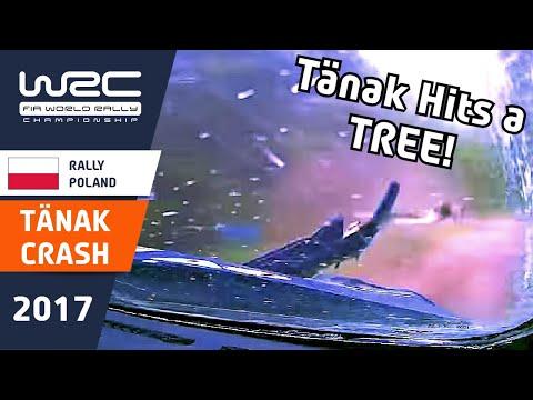 WRC - ORLEN 74th Rally Poland 2017: ONBOARD Tänak SS21