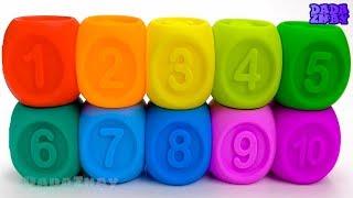 Учим цифры с кубиками|Учим цифры|Учимся считать до 10| Развивающее видео для детей|Учим цвета