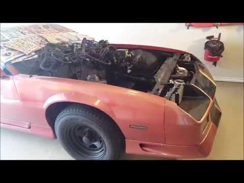 82-92 Camaro Engine Bay Paint!!! - YouTube
