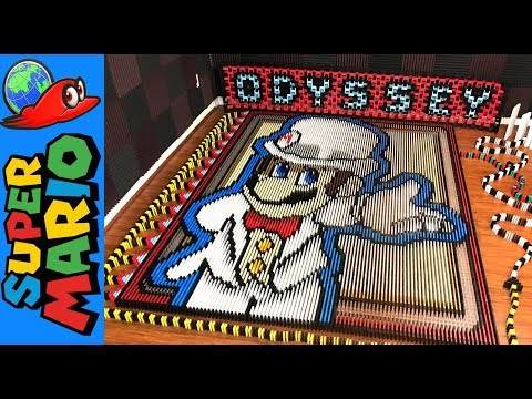 Thumbnail: Super Mario Odyssey (IN 148,777 DOMINOES!)