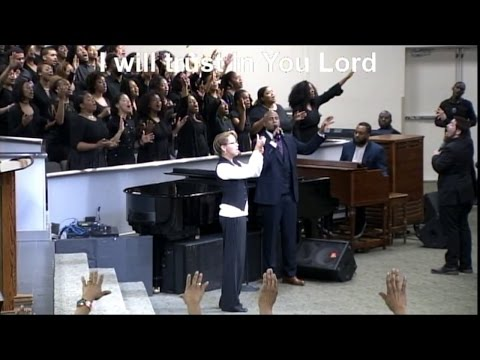 """No Reason To Fear"" / ""Trust In You"" Young Adult Choir w/ Anthony Brown & Rob Loper"