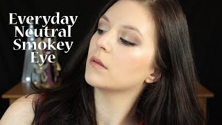 Makeup Tutorial: Everday Neutral Smokey Eye Thumbnail