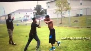 2 Armless Dudes Catch A Fade! [Full Fight Version]