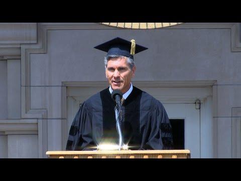 May 21, 2017 - TOMS CEO Jim Alling '83 Addresses DePauw University Graduates