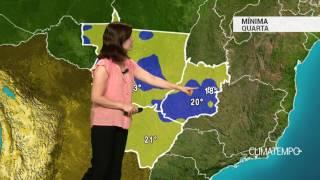 Previsão Centro-Oeste – Umidade aumenta em MS