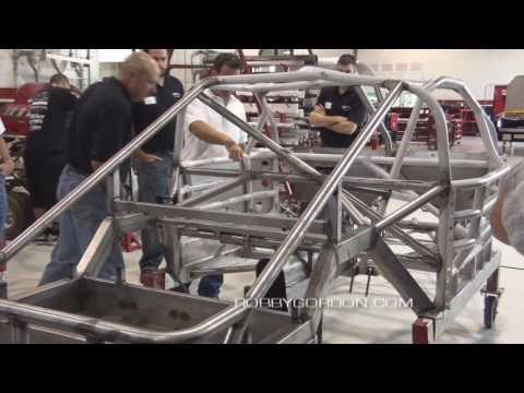 TECHNI Water Jet Shop Tour at Robby Gordon Motorsports