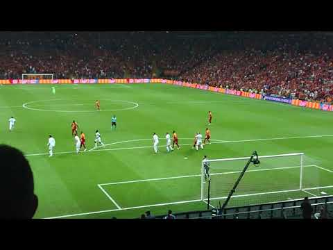 Turk Telekom Arena, GS, Moscow, champions league, slow-motion goal!!!