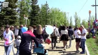 День победы. Саратов, парк Победы, 9 Мая 2015 год
