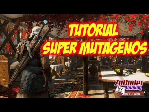 The Witcher 3 Blood and Wine [Tutorial Mutagenos]
