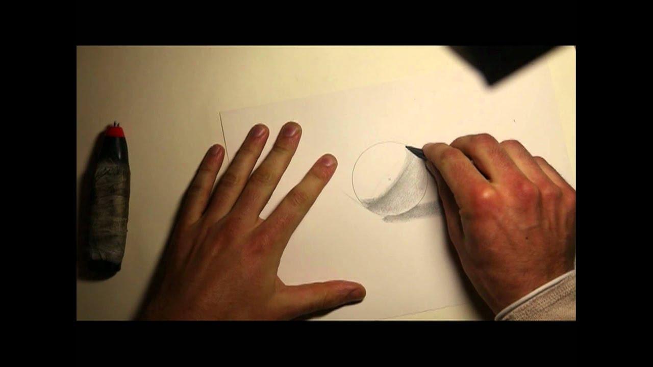 Dessiner une sphere en volume youtube - Faire une piece en 3d ...