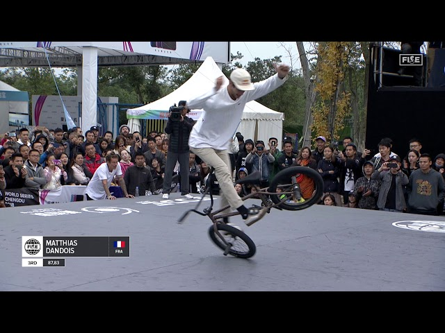BEST OF | BMX FLATLAND FISE CHENGDU 2018