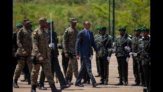 Perezida Kagame yakiriye indahiro za ba Ofisiye bashya 180