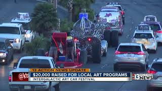 Thousands of people attended the Intergalactic Art Festival in Down...