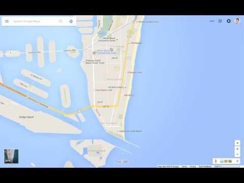 Miami Beach Neighborhood Tour & Google Maps Walkthru