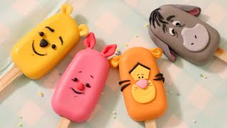 Winnie-the-pooh Cakesicles!   Creating Our Favorite Friends From Hundred Acre Wood!