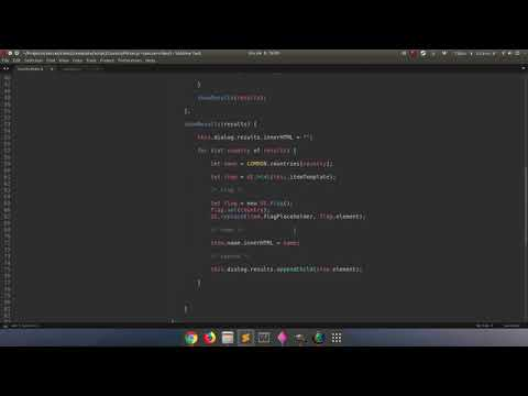 Coding A Country Picker For Instant Online Soccer Game / Javascript