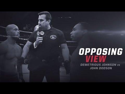 UFC 191: Opposing View - Johnson vs. Dodson
