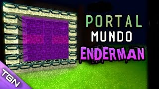 PORTAL MUNDO ENDERMAN REAL | MINECRAFT PE (MCPE) Minecraft Pocket Edition 2017 (1.0.2)
