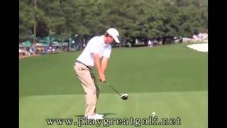Lucas Glover Driver Swing 2013 - Masters
