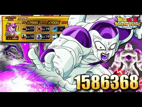 100% Full Power Frieza!!! 1 MILLION NO PROBLEM | DOKKAN BATTLE | Global |