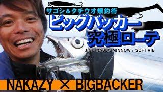 ビッグバッカー究極ローテ!サゴシ&タチウオ爆釣術