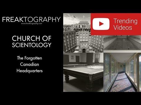 Urban Exploration: Church of Scientology Forgotten Canadian Headquarters