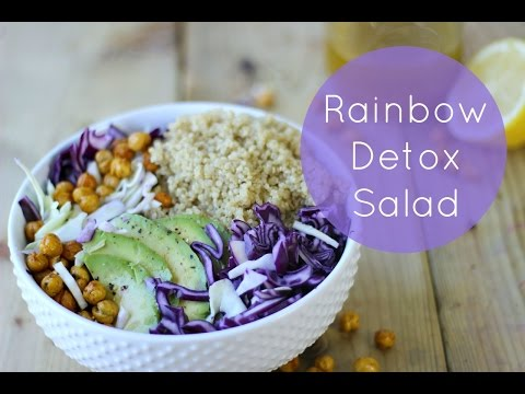 Rainbow Detox Salad | Healthy Salad Recipe