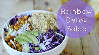 Rainbow Detox Salad | Healthy Salad Recipe