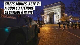Gilets jaunes, acte V : à quoi s'attendre ce samedi à Paris