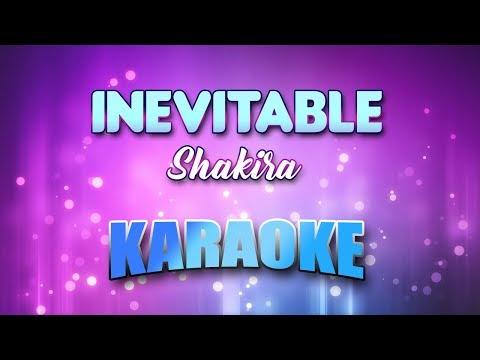 Shakira - Inevitable (Karaoke & Lyrics)