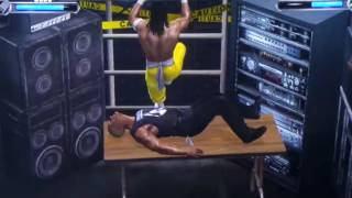 ECW Orginals Edition Extreme Moments and Fails Montage (WWE Games)