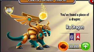 Dragon City - Ra Dragon [Summer Island | Full Reveal with Map 2017]