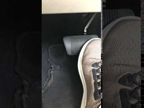 Brake Pedal Moves From Side To Side