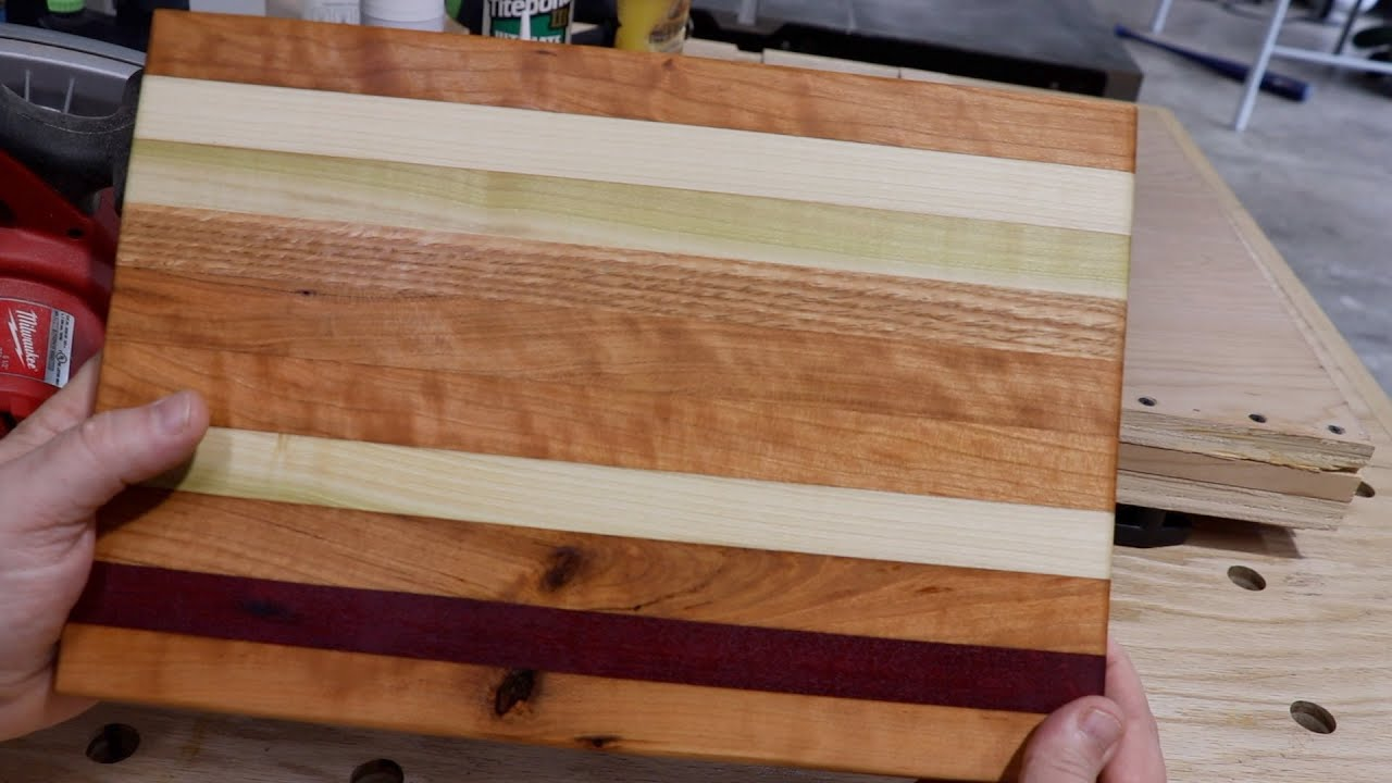 Using Only a Circular Saw to Make End Grain Cutting Board