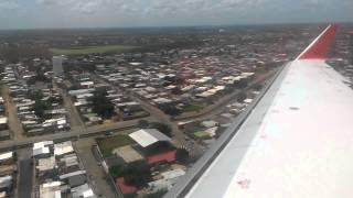 Aterrizaje, Conviasa San Fernando de Apure