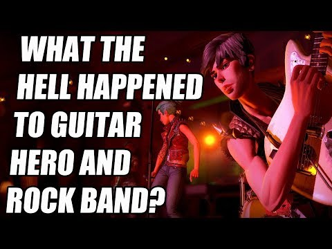 What The Hell Happened To Guitar Hero And Rock Band?