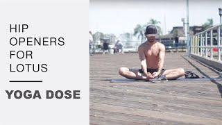 Hip Opening Flow to Lotus For Meditation - Yoga With Tim Senesi