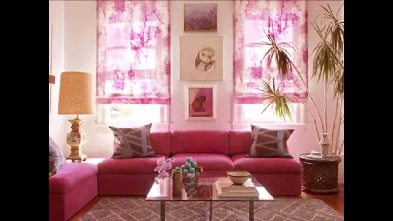 pembe oturma odası dekorasyonu- pink living room decoration - youtube