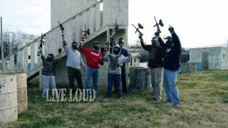 Insane Paintball Chattanooga, TN Group Party Promotional Video